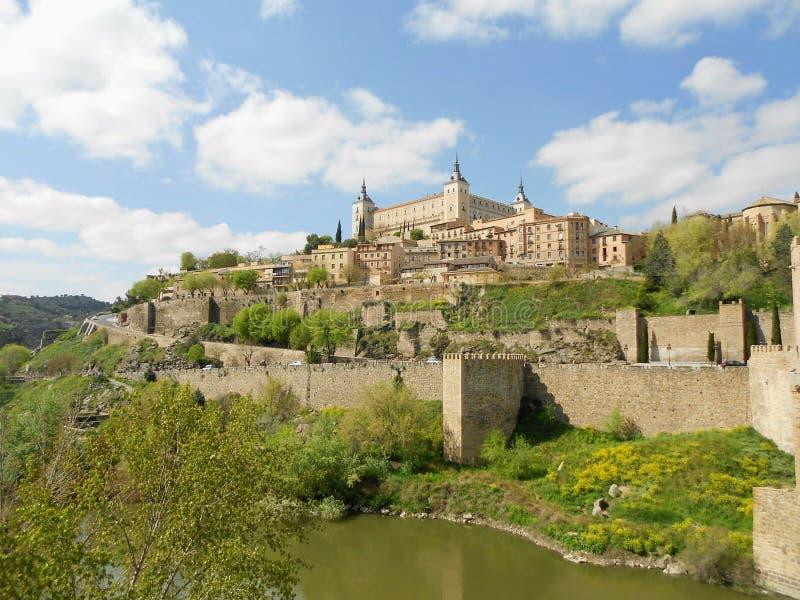 Real Alcazar of Toledo, Spain stock image