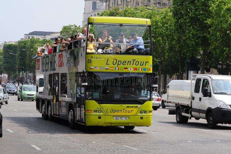 Sight seeing bus tour paris
