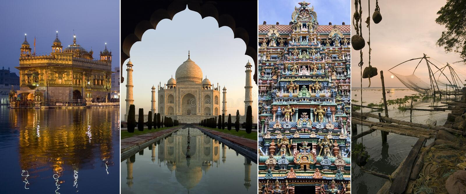 Sights of India stock photography