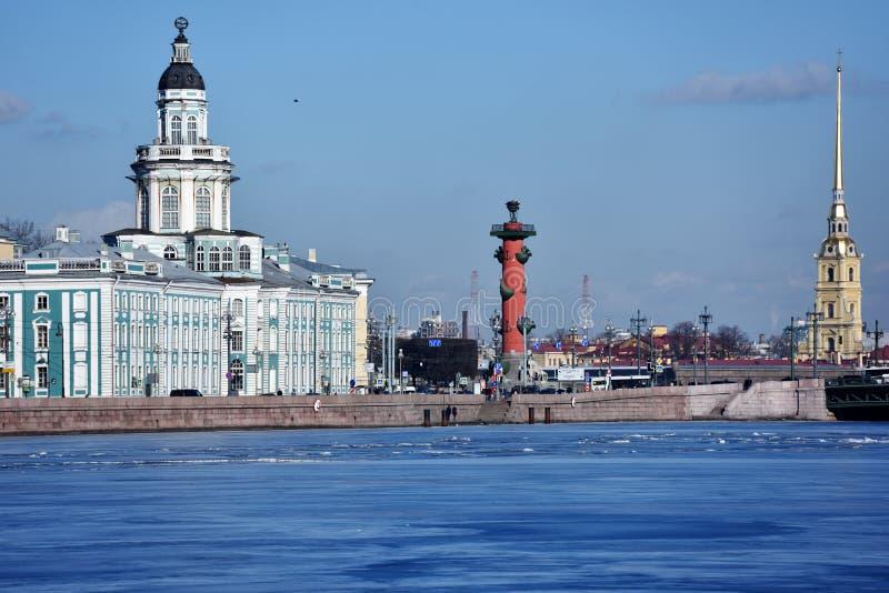 Sights of Saint Petersburg stock photos