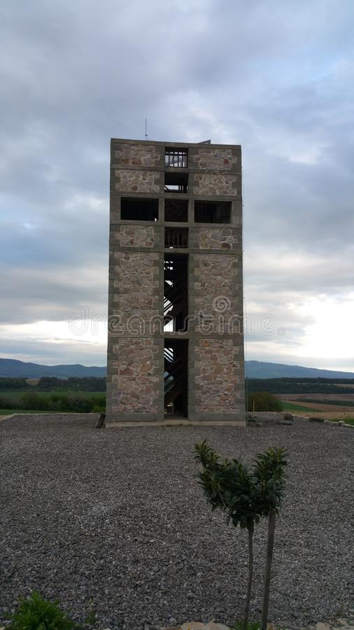 Sightseeing башня стоковые изображения rf