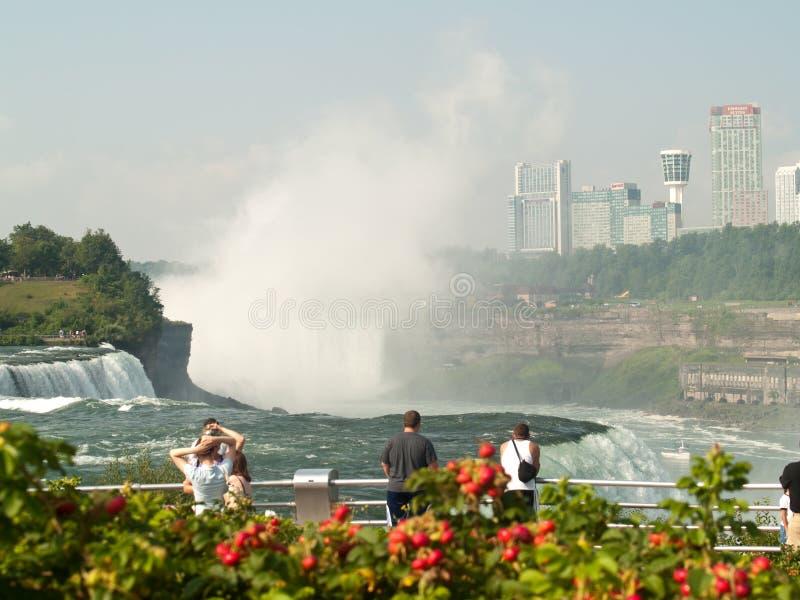 Sightseeing Em Niagara Falls Imagem Editorial