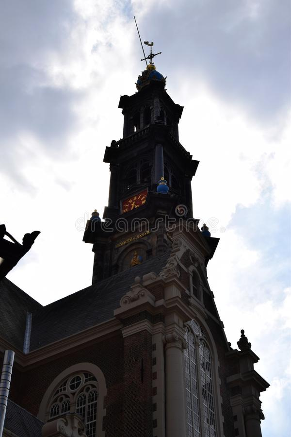 Historic town of Edam - Origin of the famous Edamer Cheese royalty free stock image