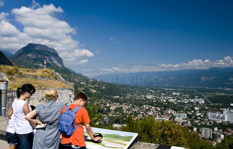 Download Sightseeing Grenoble stock photo. Image of sunny, family - 11212990