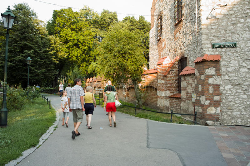Download Sightseeing Krakow. editorial image. Image of architecture - 27281730