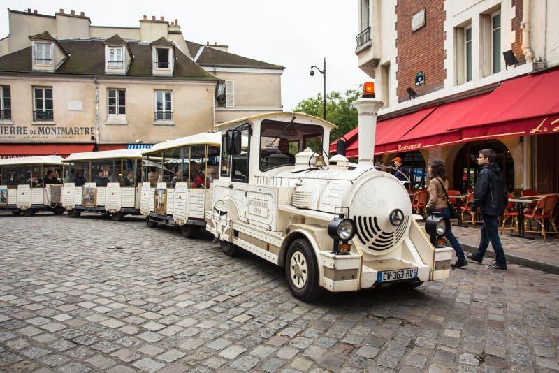 Sightseeing Montmartre stock fotografie