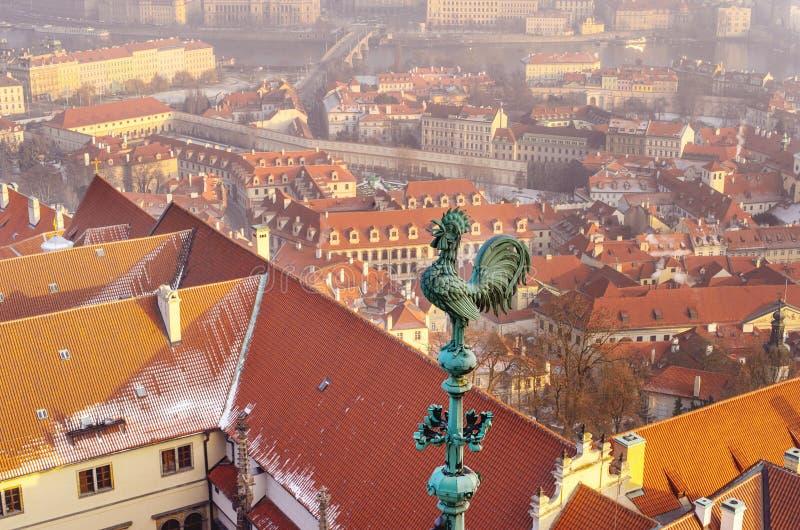 Sightseeing in Praag royalty-vrije stock foto's