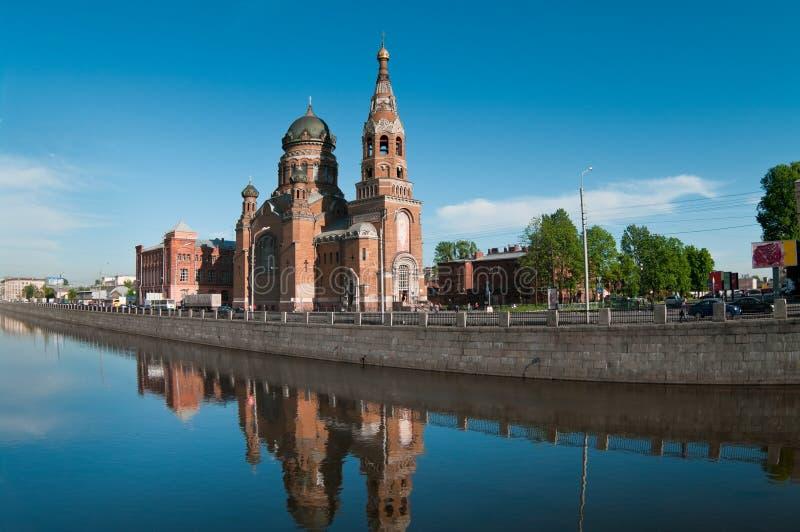 Sightseeing of Saint-Petersburg city royalty free stock images