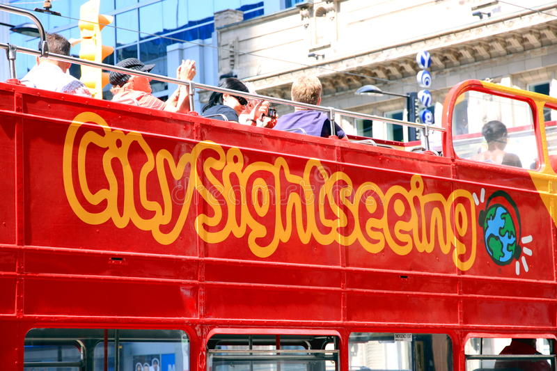 Sightseeing Tour royalty free stock photography