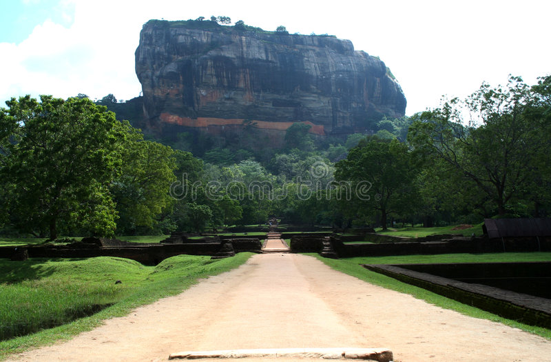 Sigiriya royalty-vrije stock afbeelding