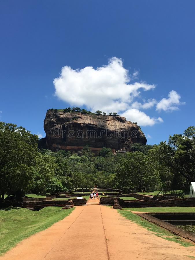 Sigiriya immagine stock
