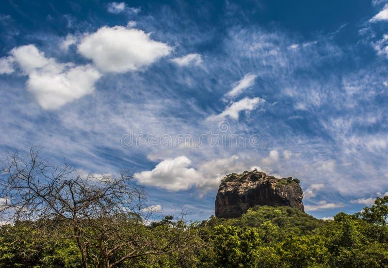 Sigiriya, Dambulla Sri Lanka obraz royalty free