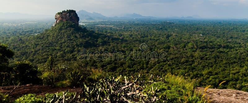 Sigiriya Lion Rock lizenzfreies stockfoto