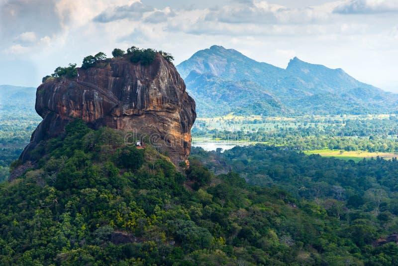 Sigiriya Lion Rock stock afbeeldingen