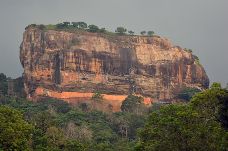 Sigiriya mountain royalty free stock photo