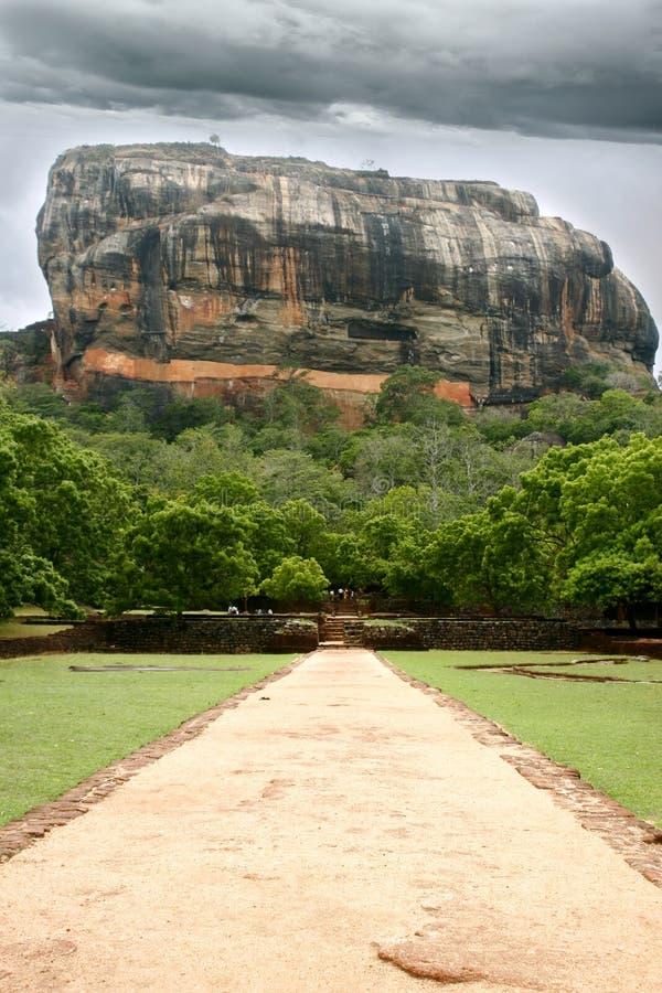 Sigiriya Rock stock images