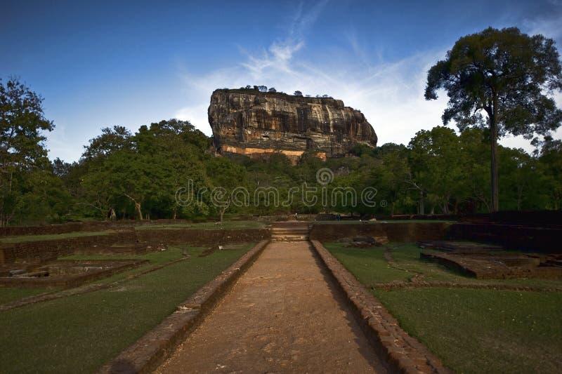 Download Sigiriya rock in Sri Lanka stock image. Image of historic - 16950593
