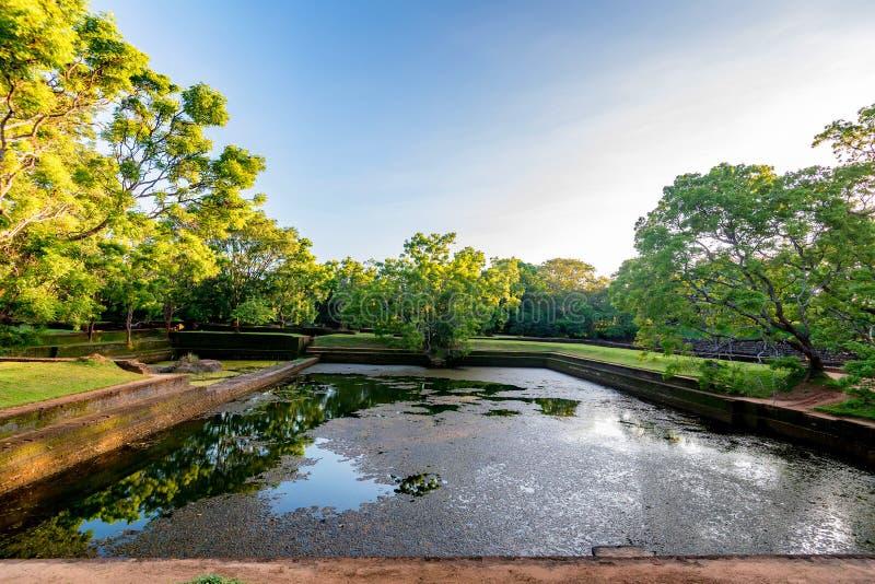 Sigiriya ruiny kompleks zdjęcia royalty free