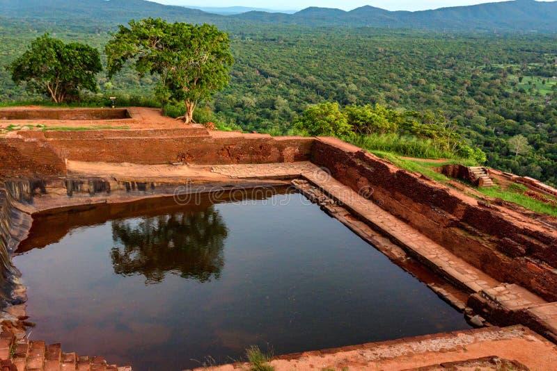 Sigiriya ruiny kompleks zdjęcie royalty free