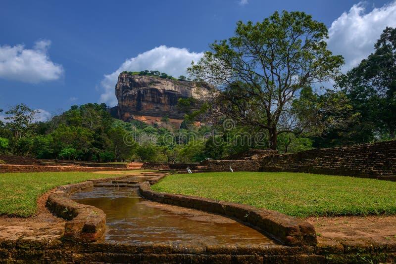 Sigiriya skała zdjęcie stock