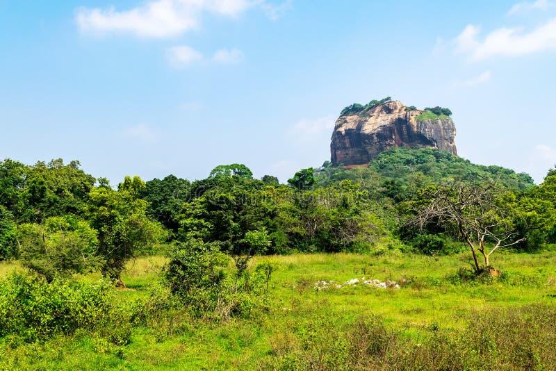 Sigiriya skała lub lew skała, Sri Lanka fotografia royalty free