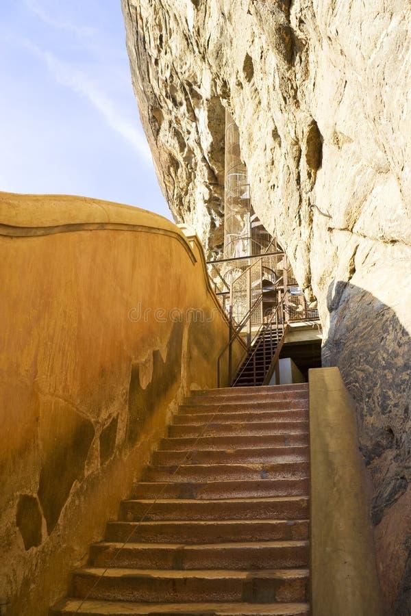 Spiegel Treppen sigiriya spiegel wand sri lanka stockbild bild treppen