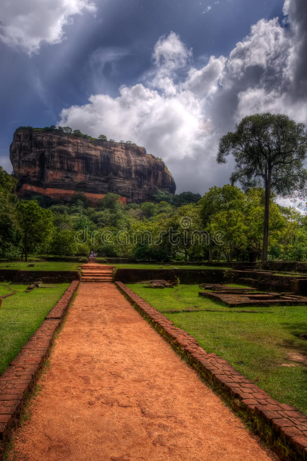 Sigiriya, Sri Lanka fotografia de stock