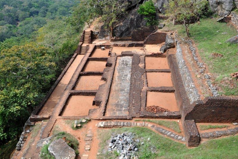 Sigiriya Sri Lanka imagenes de archivo