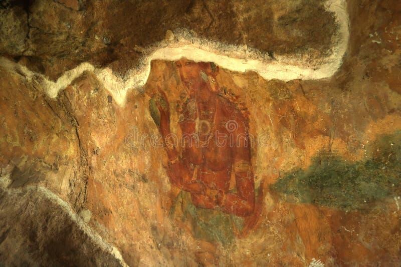 Sigiriya, Sri Lanka - de Rots van de Leeuw, de Vesting van de Rots royalty-vrije stock fotografie