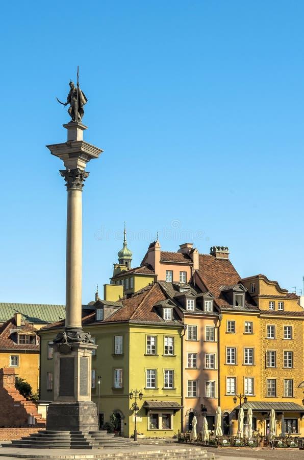 Sigismund kolonn, Warszawa arkivbild
