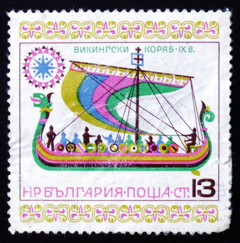 Siglo del velero de Viking IX foto de archivo libre de regalías