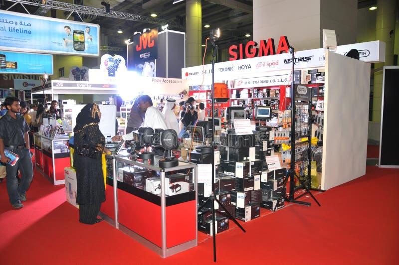 sigma 2009 för fördelargitexpaviljong arkivbilder
