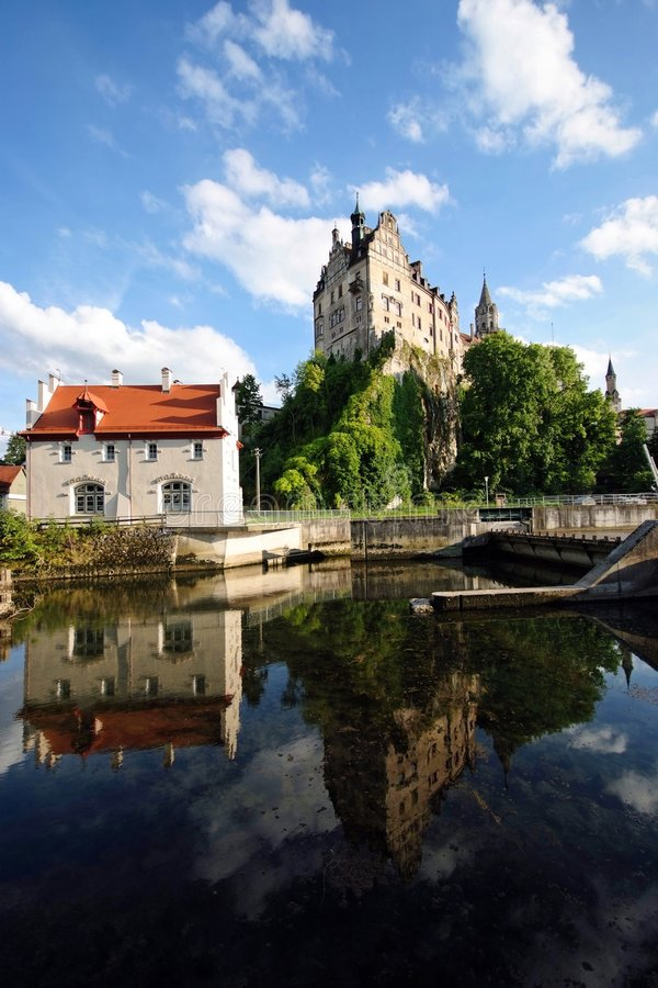 Sigmaringen Schloss stockfotografie