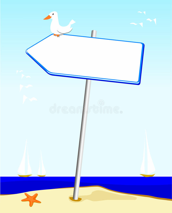 Sign royalty free stock image