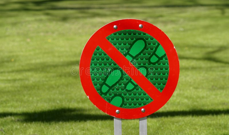 Download Sign stock photo. Image of green, park, protect, forbidden - 104286