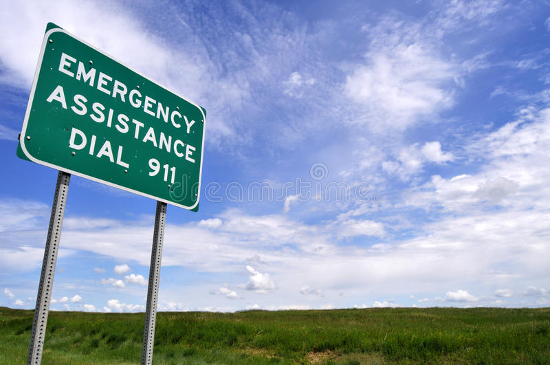 Download Sign for 911 number stock photo. Image of danger, number - 24936288