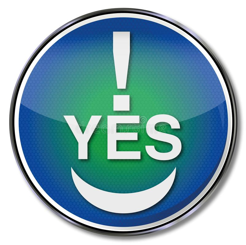 No yes signs Royalty Free Vector Image - VectorStock