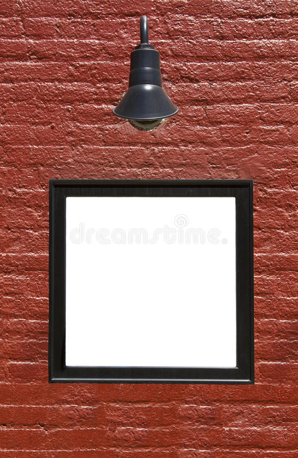 Download Sign On Brick Wall Stock Images - Image: 19791834