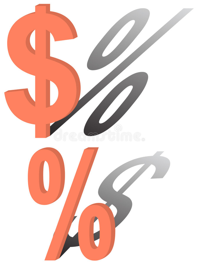 Download Sign of a dollar stock vector. Image of token, dillar - 8699537