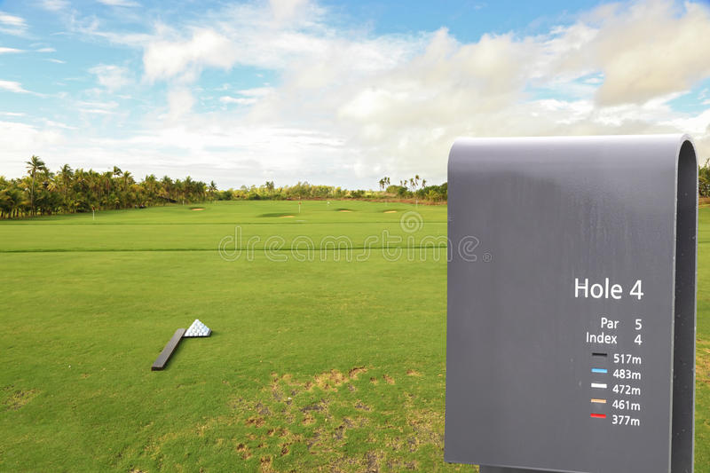 Download Sign in golf field stock image. Image of play, board - 18308379