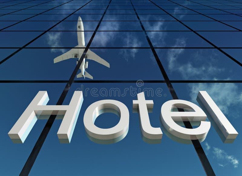 Sign hotel royalty free illustration