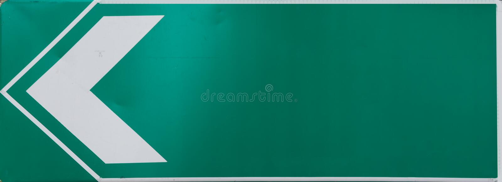 Sign in Bangkok, Thailand. Blank sign on green background in Bangkok, Thailand royalty free stock images