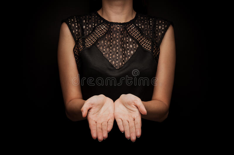 Sign Language of word stock images