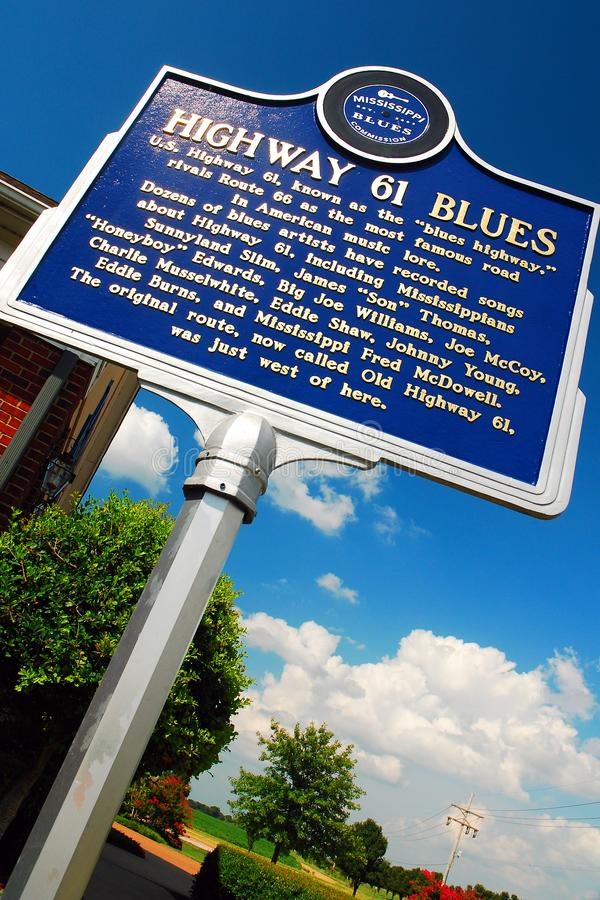 The Blues Highway, stock photography