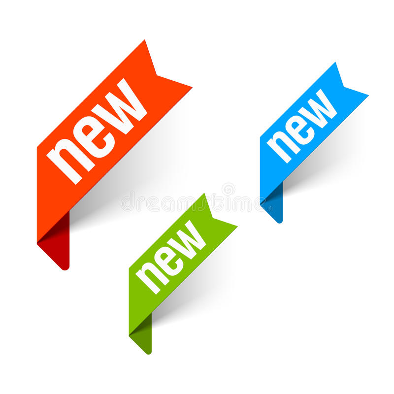 Download Sign New stock vector. Image of element, angle, note - 25158433