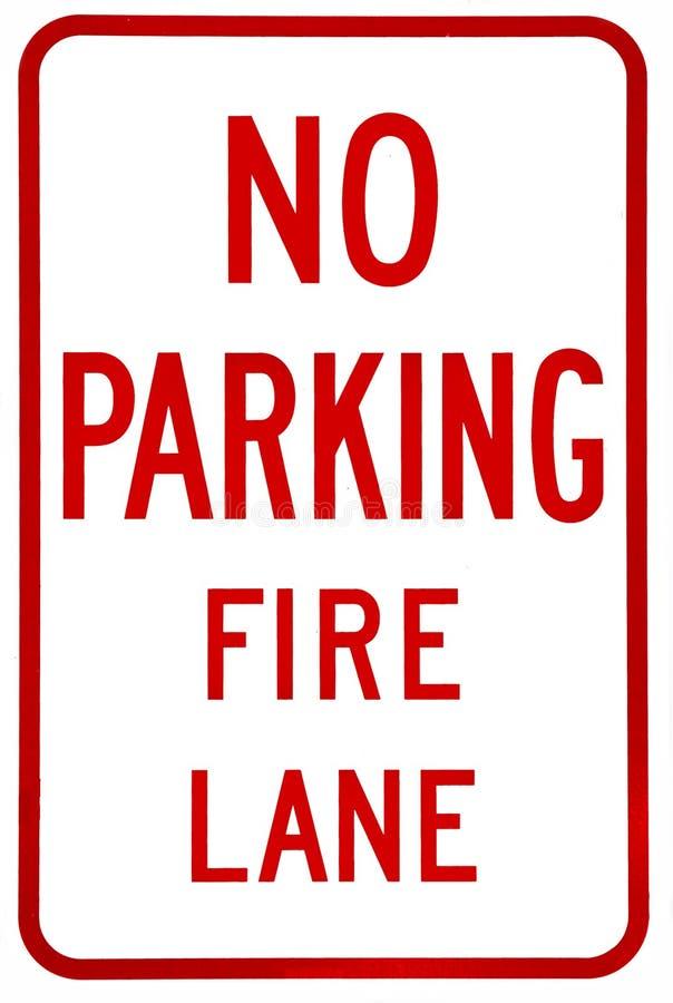 Sign- No parking