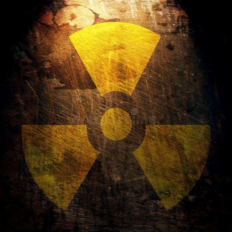 Free Sign Of Radiation Stock Image - 13474301