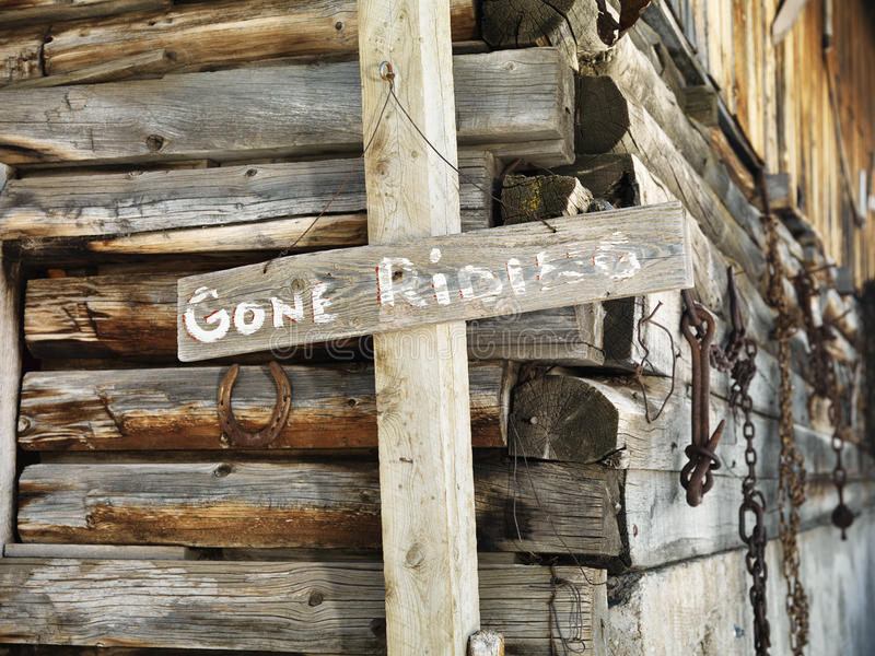 Download Sign and Old Stable stock photo. Image of focus, country - 12986210