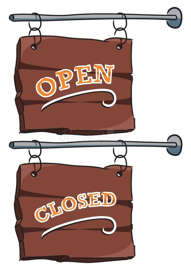 Sign: Open/closed stock photos