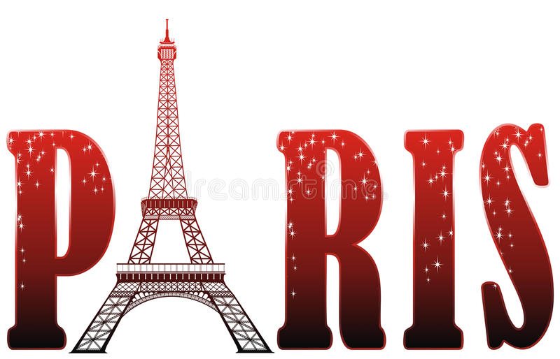 Download Sign Paris With Eiffel Tower Stock Image - Image: 22808431